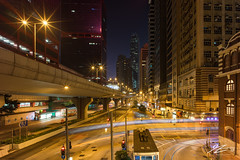 As a child I knew/ That the stars could only get brighter (Tim van Zundert) Tags: shuntakcentre sheungwan road lighttrails tram cars night evening longexposure skyscraper architecture building streetlights overpass cityscape city skyline hongkong china sony a7r voigtlander 21mm ultron