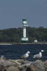 Leuchturm Falckenstein + Möv (MD Picture) Tags: kiel city falckenstein strand wasser meer ostsee leuchturm möven