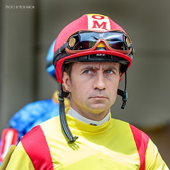 IMG_0982_April 21 2017_Luca Panici (BobAaronMaine) Tags: gulfstream park hallandale beach florida thoroughbred racing horse race racetrack track jockey jockeys pegasus panici luca
