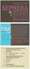 Tipografia Sephera (Érico Lebedenco) Tags: adg brasil 10ª bienal design gráfico graphic brasileira brazilian typography tipografia typeface text texto serif serifa cardinali tipomakhia br