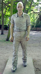 Walking Man (Russtafa) Tags: sean henry art ar artwork seanhenry holland park publicart sculpture