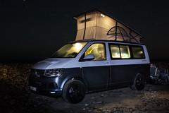 IMG_2122-1 (Andre56154) Tags: portugal küste coast strand beach ozean ocean atlantik atlantic wasser water vw volkswagen bulli t6 californias car auto camping nacht night
