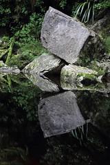 Stone Architecture (Tones Corner) Tags: oparara reflection stones nzbeauty nzbush canon60d