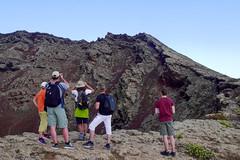 Looking Over the Edge (simonturkas) Tags: lanzarote canaryislands islascanarias volcano explore travel adventure spain amazing landscape interesting