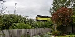 60047 (elr37418) Tags: colas garden 60 tree plants nikon d7000 england lancashire great britian coote lane bank train railway fence 60047