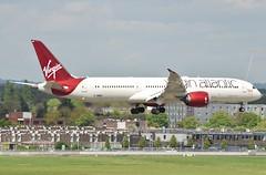 G-VMAP B787 Virgin Atlantic at Heathrow 22-04-17 (Pete Altoft) Tags: virgin airlines aircraft airport atlantic boeing b787 dreamliner landing london heathrowairport uk 2017