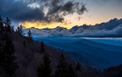 Morning Light over Blue Ridge (Jon Ariel) Tags: gsmnp greatsmokymountains greatsmokymountainsnationalpark mountains sunrise nc north carolina northcarolina clouds