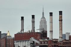 Landmarks (macplatti) Tags: esb empirestatebuilding newyork kamine industrie industrial smoke rust rost environment umwelt usa