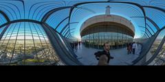 Milad 360° (\Nicolas/) Tags: milad tower tehran iran top view equi equirectangular selfie structure architecture