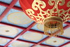 Mannheim - Luisenpark, Teehaus (berlin_chick) Tags: mannheim luisenpark teehaus badenwuerttemberg chinesisch chinese teahouse lampion lantern red ceiling painting germany deutschland cmwd cmwdred rot pattern