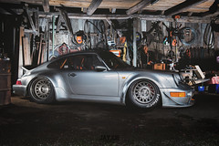 PORSCHE 964 RWB (JAYJOE.MEDIA) Tags: porsche 964 rwb low lower lowered lowlife stance stanced bagged airride static slammed wheelwhore fitment messerwheels