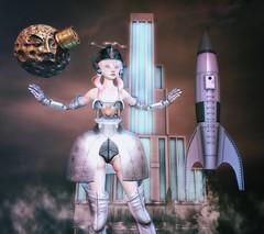 Dolltropolis (Spirit Eleonara) Tags: second life photography light shadow colour coco doll avator cureless fantasy scifi art deco curemore