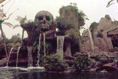 1962 Skull Rock (Tom Simpson) Tags: disney disneyland vintage vintagedisney vintagedisneyland 1962 1960s skullrock fantasyland skull waterfall