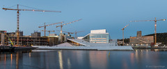 Oslo Opera House (Sigurd R) Tags: oslooperahouse architecture bjørvika centraloslo city clear dark evening longexposure night norge norway opera oslo sky spring sundown tripod urban no