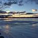 China Lake Winter Sunset - D. Worster