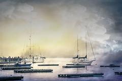 Camden Harbor, Maine (jm atkinson) Tags: schooner camden harbor maine 7dwf seascape atlantic ocean texture kerstinfrank