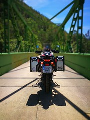 The bridge 🌉 (carlesbaeza) Tags: adventure advrider adventurerider dualsportlife dualsport bigtrail biker bridge travel offroad motobiker moto motorcycle motorrad supertenere xt1200z yamaha xladv catalunya catalonia