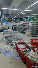 Closing Down Supermarket Shenzhen China (dcmaster) Tags: closing down supermarket shenzhen china chinese shutting stripping out business empty abandoned shelves zombies urban asia life city store shop