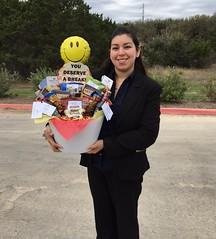 "Neptune Society San Antonio, TX - Senior Center ""You Deserve A Break"" Basket Donation"