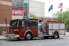Brownsburg R1 (adelaidefire) Tags: brownsburg fire department indiana sutphen 2008 shield 15001000