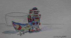 11- An Interesting Detail (cheesemoopsie) Tags: aquarelle watercolor sketch croquis
