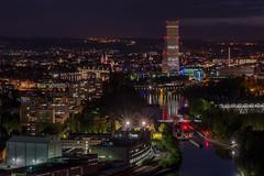 Basel by night (TM Photography Vision) Tags: grenzachwyhlen badenwürttemberg deutschland basel by night sony alpha 99 nightshoot minolta 70210 f4 ofenrohr rhein grenzacher hornfelsen