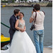 'The making of' .......... a wedding couple in Porto with their photographer ... (Martha de Jong-Lantink) Tags: 2017 porto portugal bridalcouple weddingcouple