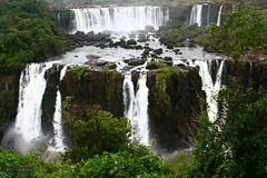 Iguasso Falls (4) (Mahmoud R Maheri) Tags: iguacufalls iguassofalls iguasso falls brazil water waterfall forest trees fozdoiguacu