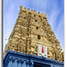 Simhachalam Hindu temple located in Visakhapatnam city suburb, India