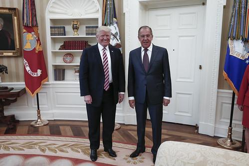 С.Лавров и Д.Трамп | Sergey Lavrov & Donald Trump