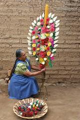 Viviana Alavez Making Candle Oaxaca Mexico (Ilhuicamina) Tags: velas zapotec candles artesanias mexico oaxacan teotitlandelvalle woman mujer gente