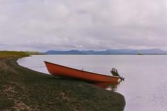 Boat (davidgarciadorado) Tags: 35mmfilm ektar iceland lake boat olympusom2 zuiko kodak ithinkthisisart