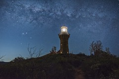 Starry Starry Night (Rein Domingo) Tags: nikon visitnsw barrenjoey lighthouse night astro d810 20mm