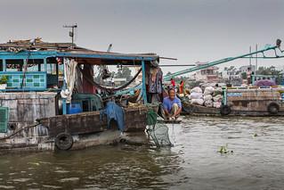 Life on the Mekong River - 1
