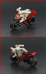 Naked Bike (mondayn00dle) Tags: lego motorcycle bike