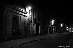 Série noire Dijon (franck mory) Tags: dijon nuit rue night blackandwhite bw