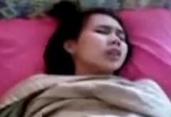 นอนแหกหีให้แฟนหนุ่มเย็ด