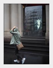 gunrunner (Andrew C Wallace) Tags: melbourne victoria australia gunrunner gun handbag gpo city cbd rain streetphotography thephotontrap olympusomdem5 tiltshift