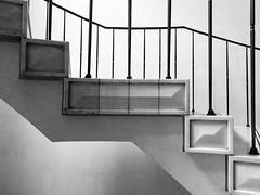 Treppe zum Abs-Saal (knipserkrause) Tags: treppe stairs schwarzweis bw sw deutschebank