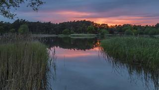 Sunset @ Frensham Little Pond