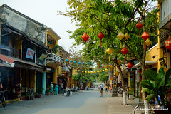 Hoi-An Street (Andrew Parmanand) Tags: vietnam asia asian seasia hoian street lantern lanterns bicycle bicycles