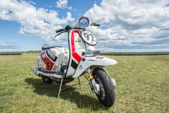My Production Class Lambretta (Tim . Simpson) Tags: eastfortune lambretta bsso production class automotivephotography timsimpsonphotography