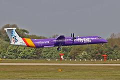 G-PRPB DHC-8Q 402 flyBe MAN 11-05-17 (PlanecrazyUK) Tags: egcc manchester man ringway manchesterairport gprpb dhc8q402 flybe 110517