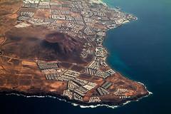 Lanzarote, Canary Islands (pas le matin) Tags: canaryislands islascanarias isla island islands islas îles ïle aerial plane lanzarote travel voyage landscape world paysage canarias canon 7d canon7d canoneos7d eos7d