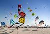 Kite Festival - Berck, France (pas le matin) Tags: beach plage kite kites cerfvolant travel world voyage berck france kitefestival ciel bleu blue sky canon 350d canon350d canoneos350d eos350d