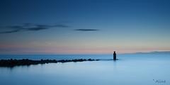 sunset at the sea (Just me, Aline) Tags: 201705 9ndhg alinevanweert brouwersdam leefilter leefilters ouddorp beach bigstopper landscape landschap langesluitertijd longexposure sea strand strekdam sunset zee zonsondergang explore
