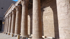 Row of Columns - Edfu Temple (Rckr88) Tags: edfu egypt edfutemple temple row columns rowofcolumns column rows architecture arch arches africa travel travelling ancientegypt ancient relic relics pharoahs pharoah hieroglyphs