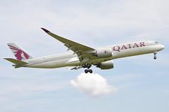 Qatar Airways Airbus A350-900; A7-ALF@ZRH;18.05.2017 (Aero Icarus) Tags: zrh lszh zürichkloten zürichflughafen zürichairport plane avion aircraft flugzeug qatarairways airbusa350900 a7alf