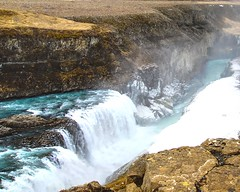 Misty Gullfoss (Herculeus.) Tags: waterfalls glacialmelt water waterfall iceland landscape outside rocks outdoors outdoor river ice snow freshwater april 2016 5photosaday gullfoss