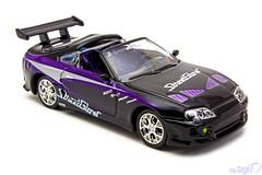 1-64_Racing_Champions_Toyota_Supra_Fast_Furious_StreetGlow (Sigi D) Tags: 164 racing champions diecast toyota supra streetglow fast furious fastfurious